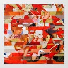 Sanrio Mustang Ranch (Provenance Series) Canvas Print