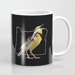 Oregon – Western Meadowlark (Black) Coffee Mug
