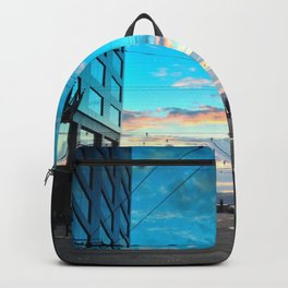 Seattle Summer Sunset Backpack