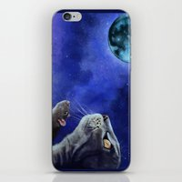 friendship iPhone & iPod Skins featuring Friendship by Mihai Paraschiv