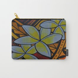 Fiery Plumerias Carry-All Pouch