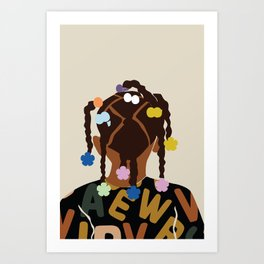 Black Girl Magic No. 2 Art Print