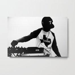 Texas DJ Metal Print