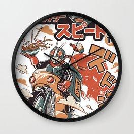 Ramen Rider Wall Clock