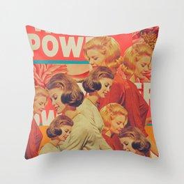 Woman Power Throw Pillow
