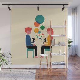 Soul Communication Wall Mural