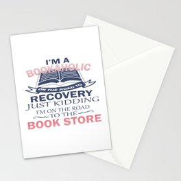 I'M A BOOKAHOLIC Stationery Cards