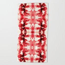 Tie-Dye Chili Beach Towel
