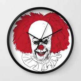 It Clown Wall Clock