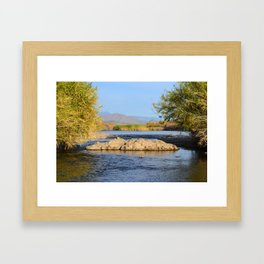 Salt River Arizona Framed Art Print
