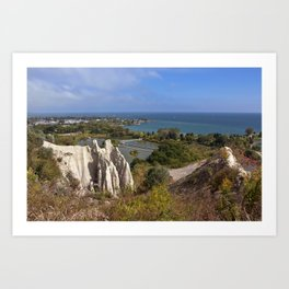Scarborough Bluffs from the top Art Print