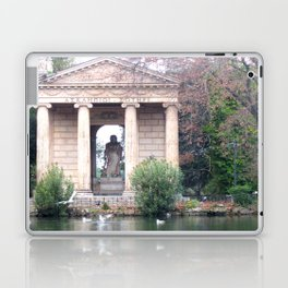 Reflection at Villa Borghese. Laptop & iPad Skin