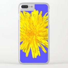 YELLOW POWER Clear iPhone Case