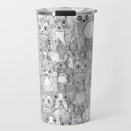crazy cross stitch critters Travel Mug