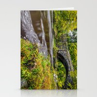 beaver Stationery Cards featuring Beaver Bridge by Adrian Evans