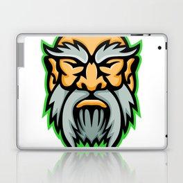 Cronus Greek God Mascot Laptop & iPad Skin