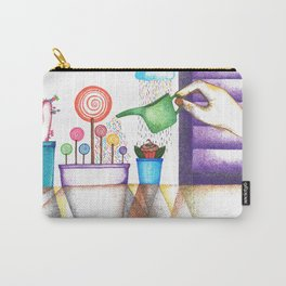 imagine (pointillism) Carry-All Pouch