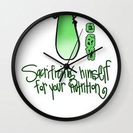Cornelius Celery Wall Clock