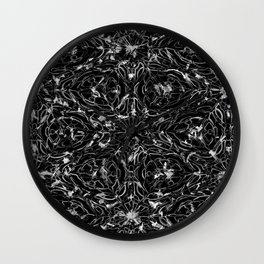 Black and white astral paint 5020 Wall Clock