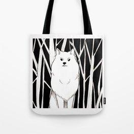Wolf King Tote Bag