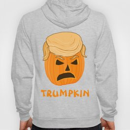 Funny Donald Trumpkin Pumpkin Jack-o-lantern Hoody