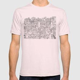 Tel Aviv (B&W) T-shirt