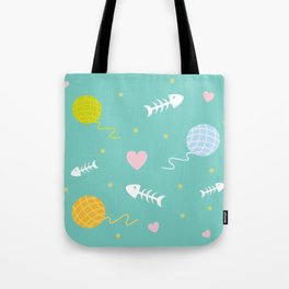 Cat Dreams Tote Bag