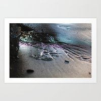 water color Art Prints featuring Water color by JRphotography