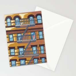 New York Apartments Stationery Cards