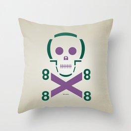 HELLvetica Throw Pillow