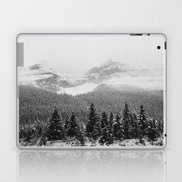 Landscape Photography Winter Wonderland | North Pole | Blizzard Forest Mountain Laptop & iPad Skin