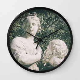 in the park Wall Clock