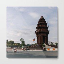PHNOM PENH Metal Print
