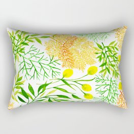 Lemon Garden Rectangular Pillow