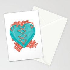 Ribbon Heart Stationery Cards