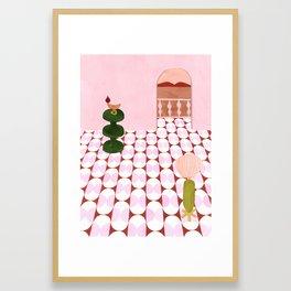 India Mahdavi Inspired House Framed Art Print