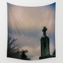 Grave on the Hill Wall Tapestry