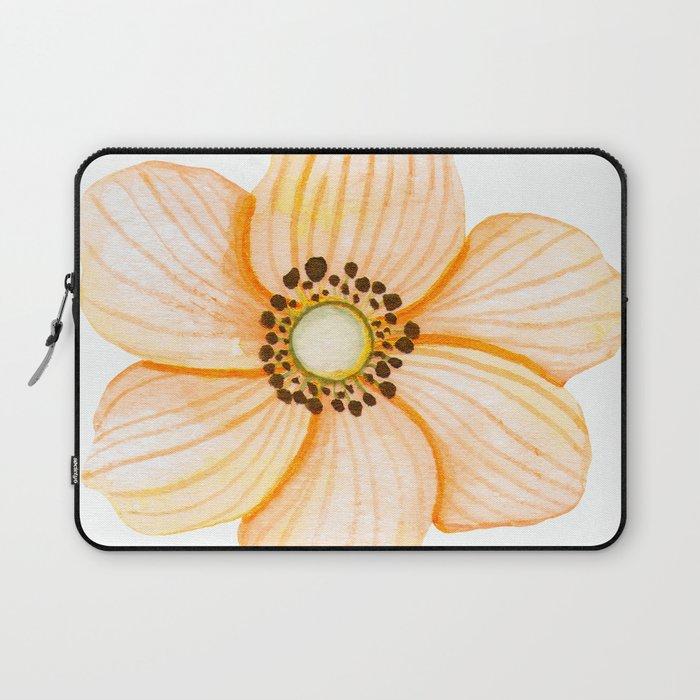 One Orange Flower Laptop Sleeve