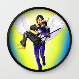 Who You Were is Who You Are Wall Clock