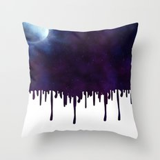 Painted Space Throw Pillow