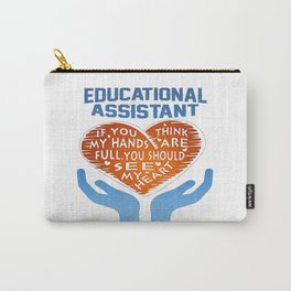 Educational Assistant Carry-All Pouch