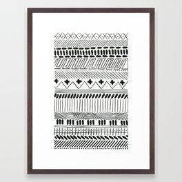 folklore 26 Framed Art Print