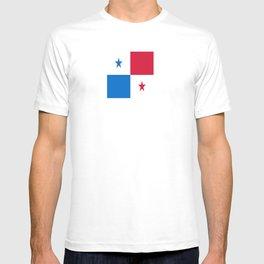 flag of panama-Panama,Panamanian,canal,spanish,San Miguelito,Tocumen,latine,central america,panameno T-shirt
