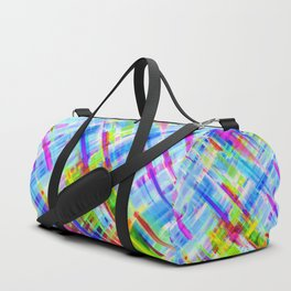 Colorful digital art splashing G468 Duffle Bag