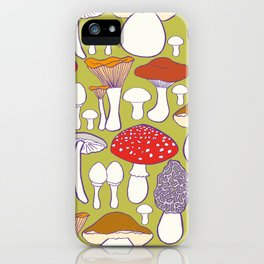 All my mushrooms iPhone Case