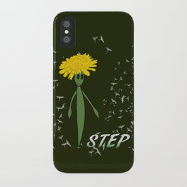 Dandeliono Character poster (STEP) iPhone Case