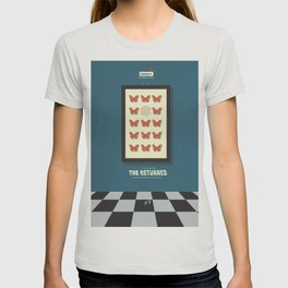 The Returned, french tv series, minimalist, alternative poster, Canal+ T-shirt