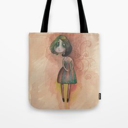 Little Miss Sadness Tote Bag