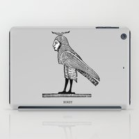 birdy iPad Cases featuring Birdy by Orit Kalev