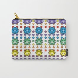 Chakra's pattern Carry-All Pouch